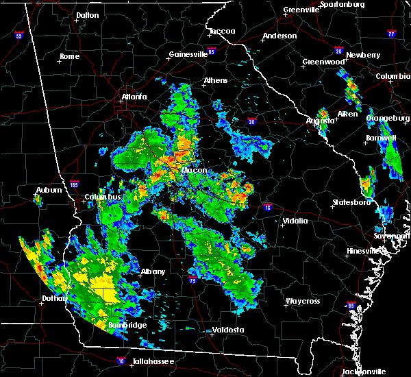 Radar Image for Severe Thunderstorms near Gray, GA at 7/21/2016 7:23 PM EDT
