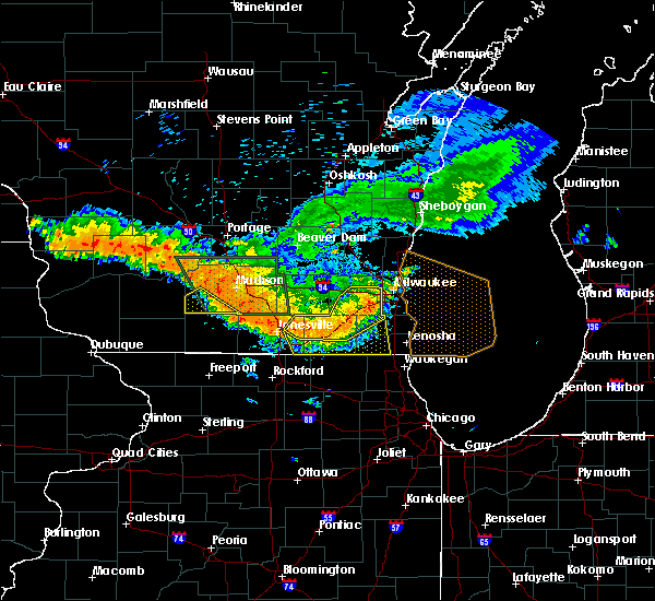Radar Image for Severe Thunderstorms near Lake Catherine, IL at 7/21/2016 7:02 PM CDT