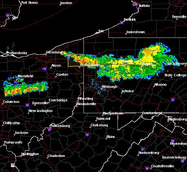 Radar Image for Severe Thunderstorms near West Pittsburg, PA at 7/22/2016 9:37 AM EDT