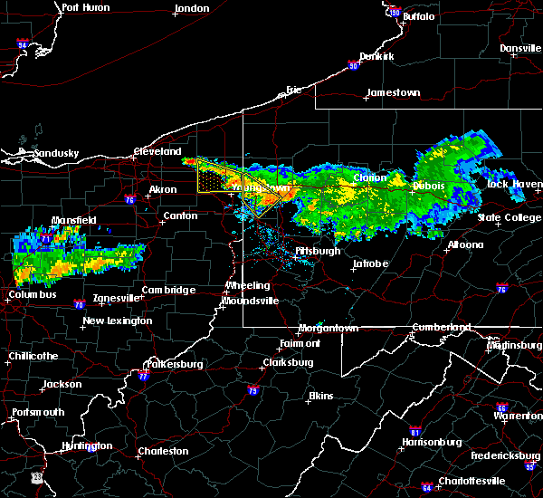 Radar Image for Severe Thunderstorms near West Pittsburg, PA at 7/22/2016 9:52 AM EDT