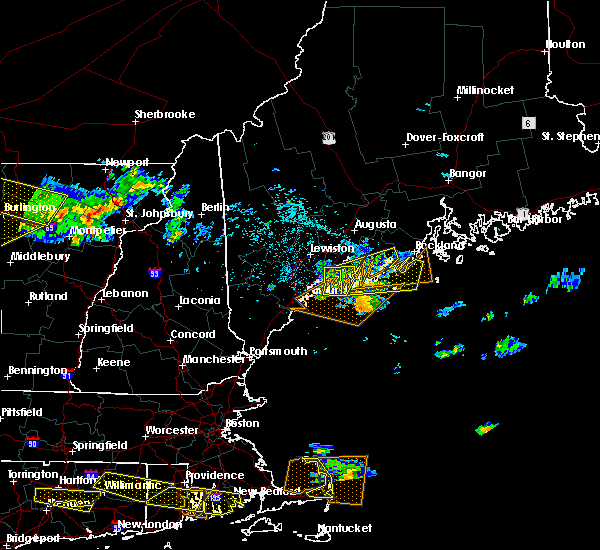 Radar Image for Severe Thunderstorms near Bath, ME at 7/22/2016 10:41 PM EDT