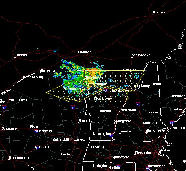 Radar Image for Severe Thunderstorms near Hinesburg, VT at 7/22/2016 11:00 PM EDT