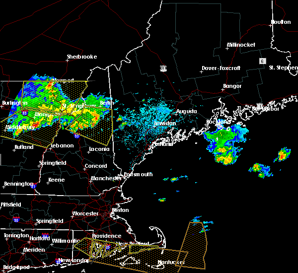 Radar Image for Severe Thunderstorms near Bartlett, NH at 7/22/2016 11:54 PM EDT