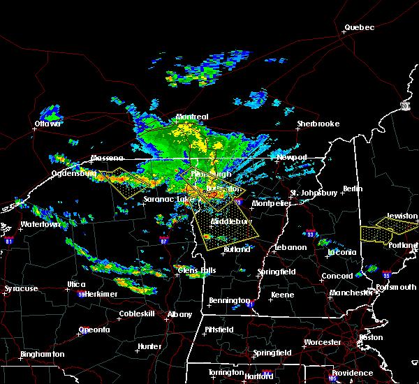 Radar Image for Severe Thunderstorms near Hinesburg, VT at 7/23/2016 3:41 PM EDT