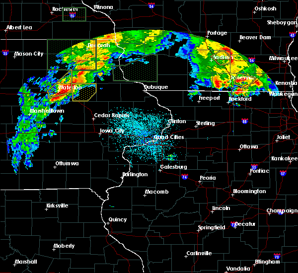 Radar Image for Severe Thunderstorms near Rowley, IA at 7/23/2016 2:59 PM CDT