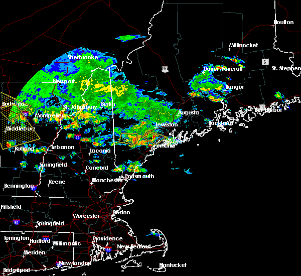 Radar Image for Severe Thunderstorms near Standish, ME at 7/23/2016 4:02 PM EDT