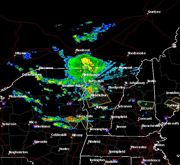 Radar Image for Severe Thunderstorms near Hinesburg, VT at 7/23/2016 4:09 PM EDT