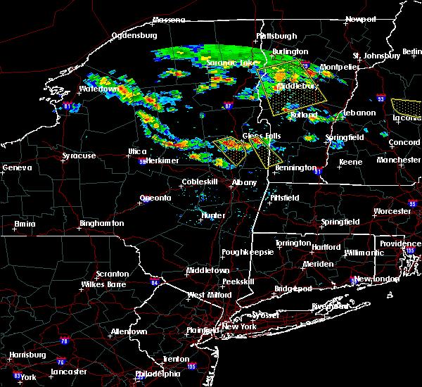 Radar Image for Severe Thunderstorms near Salem, NY at 7/23/2016 4:09 PM EDT