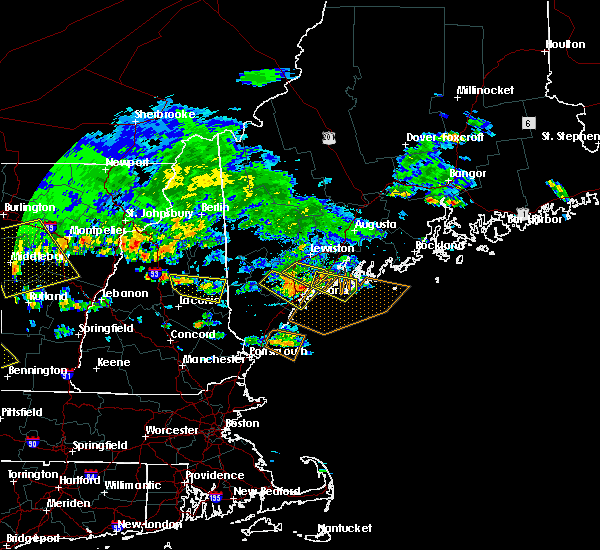 Radar Image for Severe Thunderstorms near Bath, ME at 7/23/2016 4:19 PM EDT