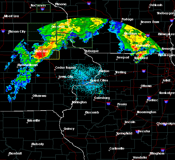 Radar Image for Severe Thunderstorms near Rowley, IA at 7/23/2016 3:21 PM CDT