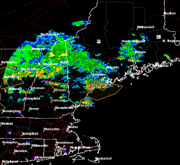 Radar Image for Severe Thunderstorms near Falmouth Foreside, ME at 7/23/2016 4:25 PM EDT
