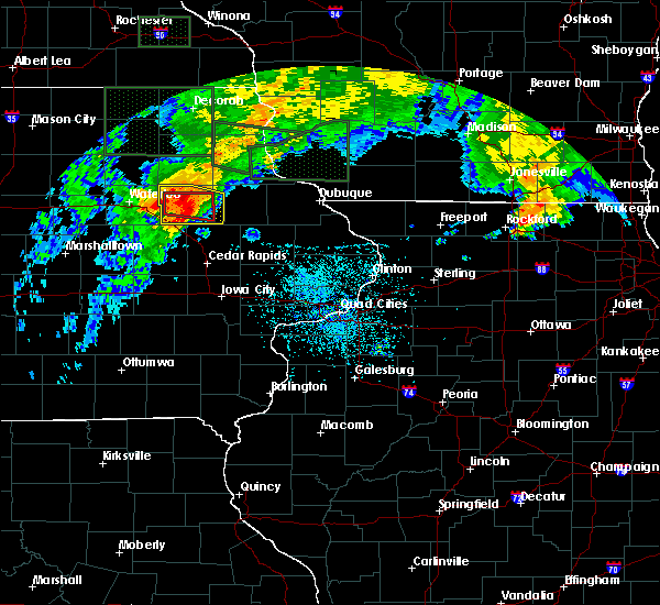 Radar Image for Severe Thunderstorms near Rowley, IA at 7/23/2016 3:42 PM CDT
