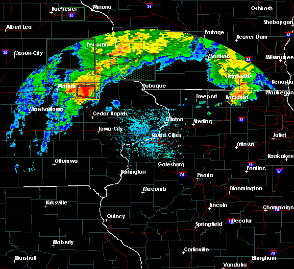 Radar Image for Severe Thunderstorms near Rowley, IA at 7/23/2016 3:52 PM CDT