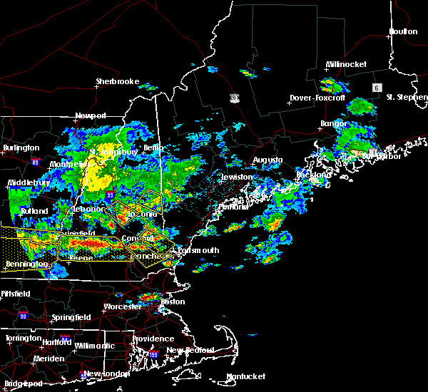 Radar Image for Severe Thunderstorms near Raymond, NH at 7/23/2016 5:43 PM EDT