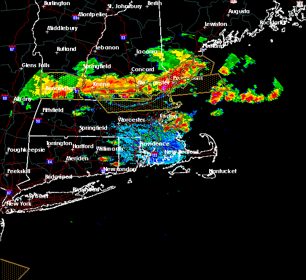 Radar Image for Severe Thunderstorms near Methuen Town, MA at 7/23/2016 6:49 PM EDT
