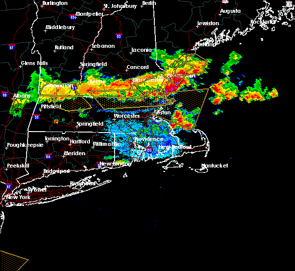Radar Image for Severe Thunderstorms near Lowell, MA at 7/23/2016 7:09 PM EDT