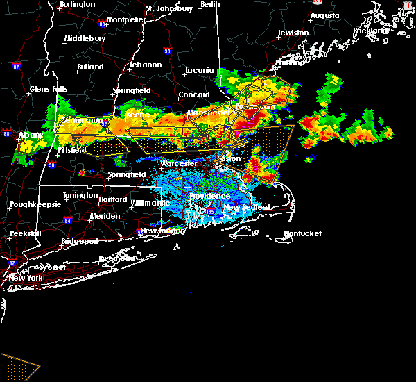 Radar Image for Severe Thunderstorms near Lowell, MA at 7/23/2016 7:12 PM EDT