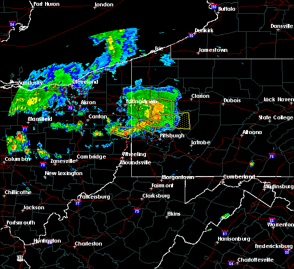 Radar Image for Severe Thunderstorms near New Cumberland, WV at 7/24/2016 3:47 PM EDT