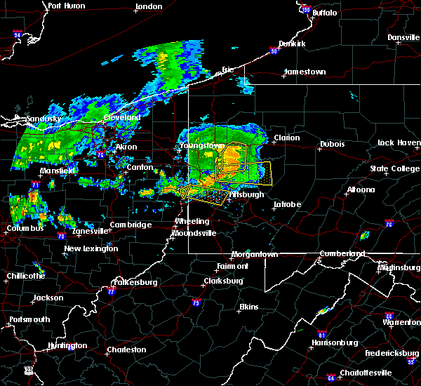 Radar Image for Severe Thunderstorms near New Cumberland, WV at 7/24/2016 3:56 PM EDT