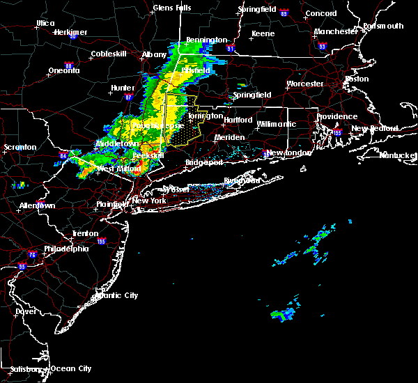 Radar Image for Severe Thunderstorms near Falls Village, CT at 7/25/2016 2:56 PM EDT