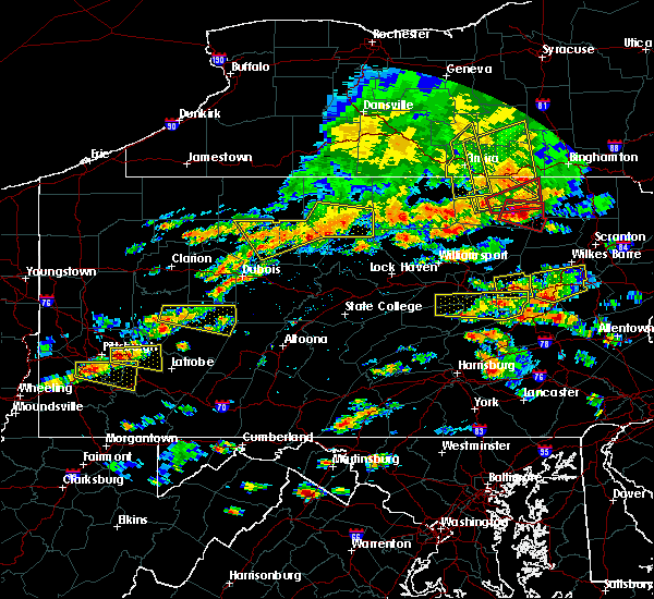 Radar Image for Severe Thunderstorms near Force, PA at 7/25/2016 3:17 PM EDT
