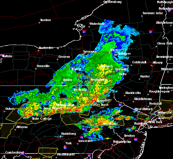 Radar Image for Severe Thunderstorms near Oakland, PA at 7/25/2016 4:15 PM EDT