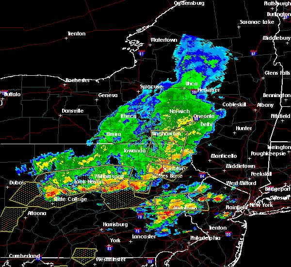 Radar Image for Severe Thunderstorms near Deposit, NY at 7/25/2016 4:28 PM EDT