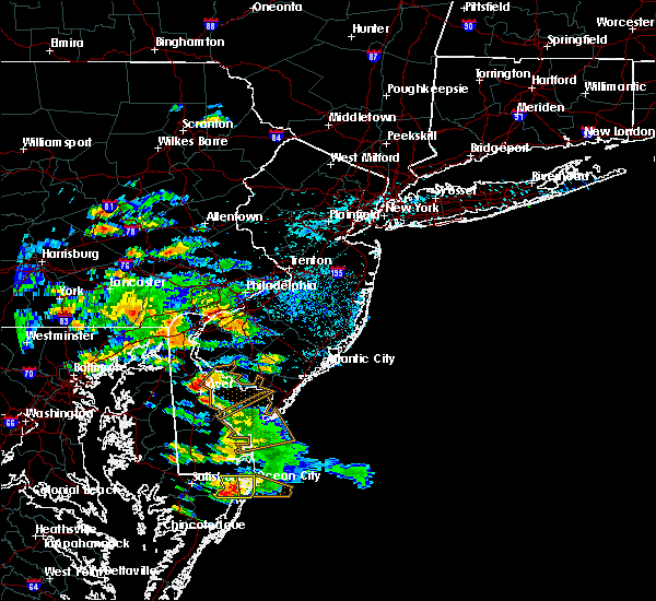 Radar Image for Severe Thunderstorms near Clayton, NJ at 7/28/2016 2:34 PM EDT