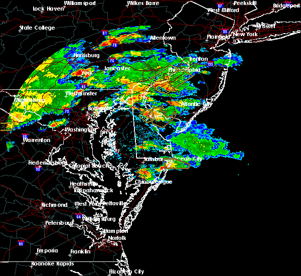 Radar Image for Severe Thunderstorms near Riverside, MD at 7/28/2016 3:02 PM EDT