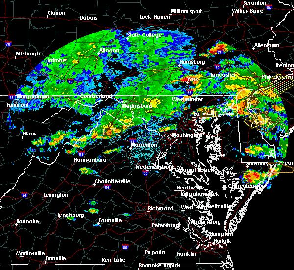 Radar Image for Severe Thunderstorms near Boyce, VA at 7/28/2016 3:15 PM EDT