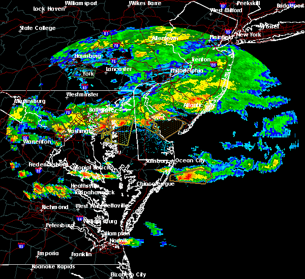 Radar Image for Severe Thunderstorms near Kingstown, MD at 7/28/2016 5:18 PM EDT