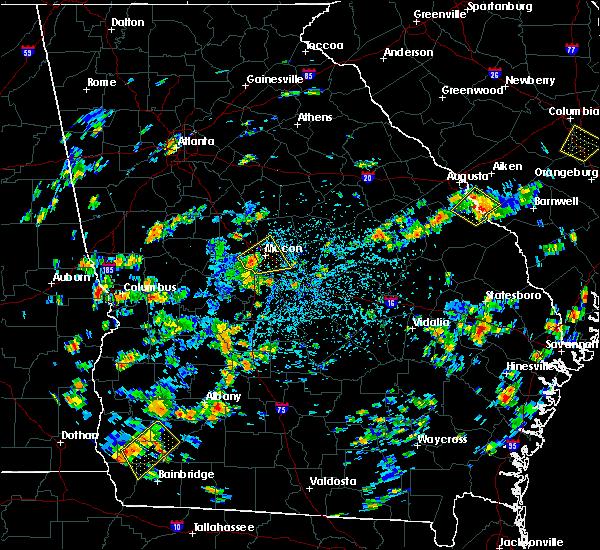 Radar Image for Severe Thunderstorms near Gray, GA at 7/31/2016 2:56 PM EDT