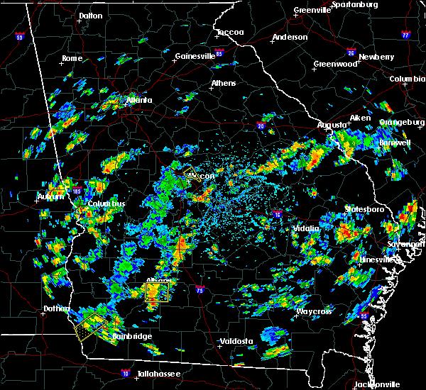 Radar Image for Severe Thunderstorms near Gray, GA at 7/31/2016 3:31 PM EDT