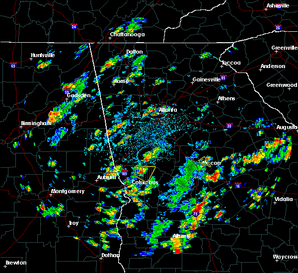 Radar Image for Severe Thunderstorms near Shiloh, GA at 7/31/2016 3:36 PM EDT