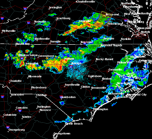 Radar Image for Severe Thunderstorms near Moncure, NC at 7/31/2016 9:30 PM EDT