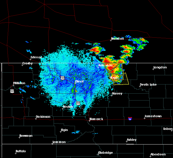 Radar Image for Severe Thunderstorms near Shell Valley, ND at 8/3/2016 4:40 PM CDT