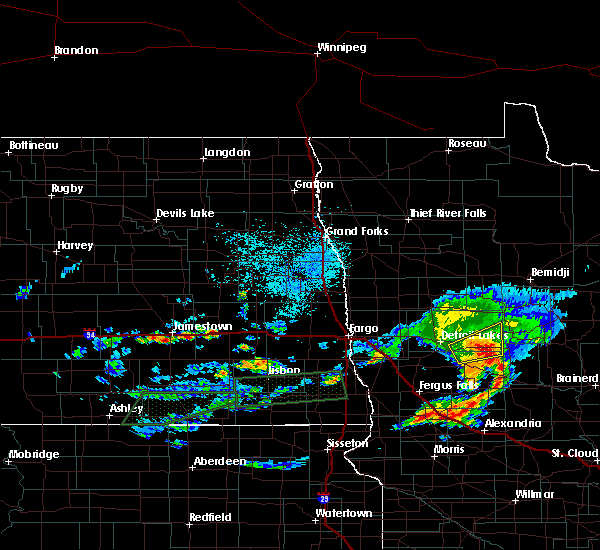 Radar Image for Severe Thunderstorms near Osage, MN at 8/10/2016 3:34 PM CDT