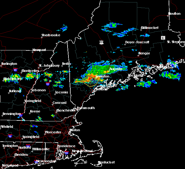 Radar Image for Severe Thunderstorms near Lewiston, ME at 8/12/2016 2:29 PM EDT