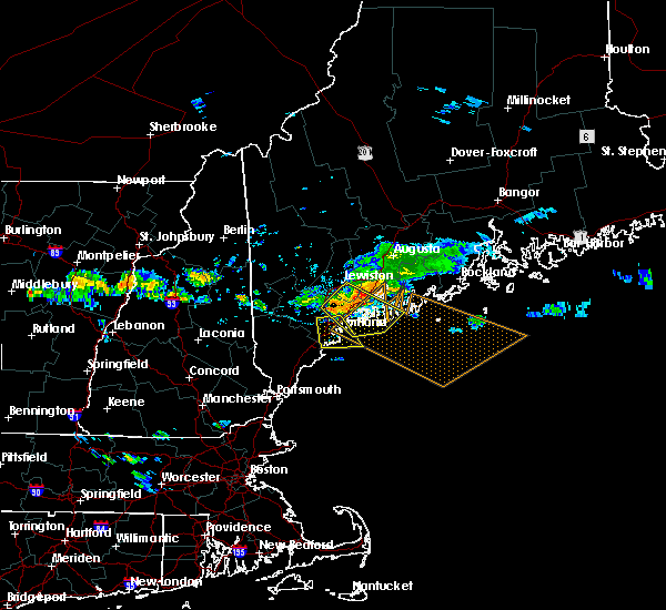 Radar Image for Severe Thunderstorms near Falmouth Foreside, ME at 8/12/2016 2:53 PM EDT
