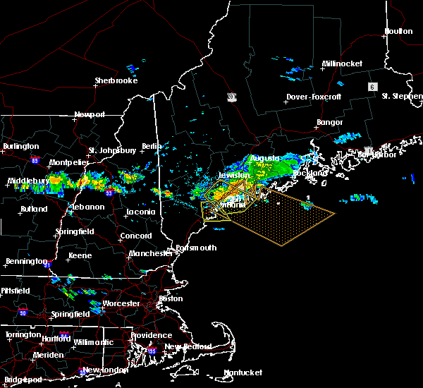 Radar Image for Severe Thunderstorms near Bath, ME at 8/12/2016 2:57 PM EDT