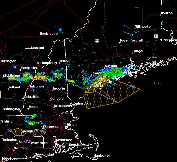 Radar Image for Severe Thunderstorms near Portland, ME at 8/12/2016 3:08 PM EDT