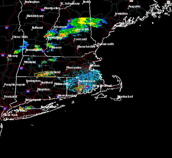 Radar Image for Severe Thunderstorms near Holyoke, MA at 8/13/2016 1:57 PM EDT