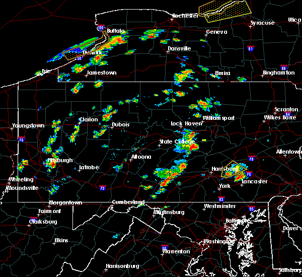 Radar Image for Severe Thunderstorms near Palmyra, PA at 8/13/2016 2:55 PM EDT