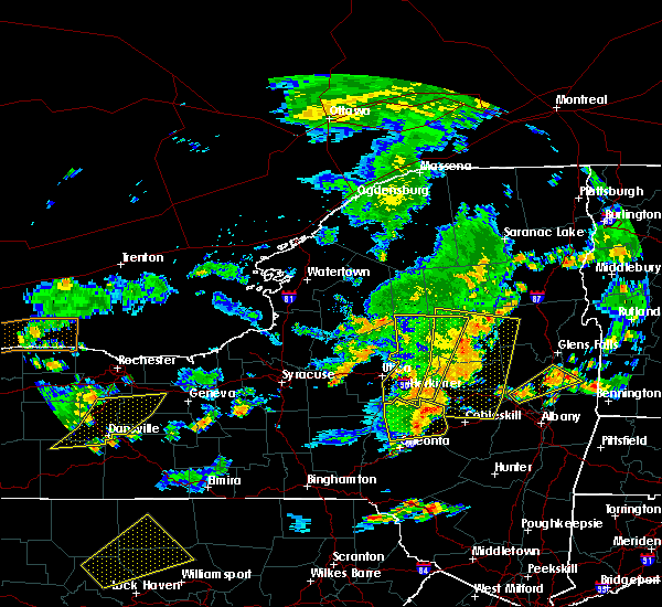 Radar Image for Severe Thunderstorms near Frankfort, NY at 8/13/2016 6:29 PM EDT