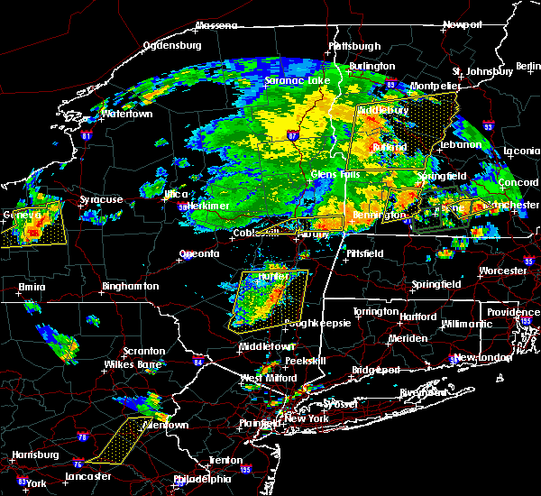 Radar Image for Severe Thunderstorms near Wynantskill, NY at 8/13/2016 8:16 PM EDT