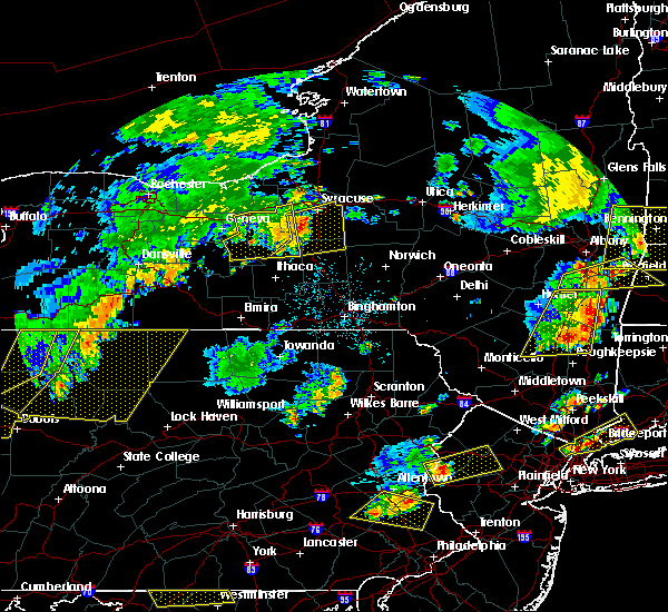 Radar Image for Severe Thunderstorms near Lyncourt, NY at 8/13/2016 8:30 PM EDT