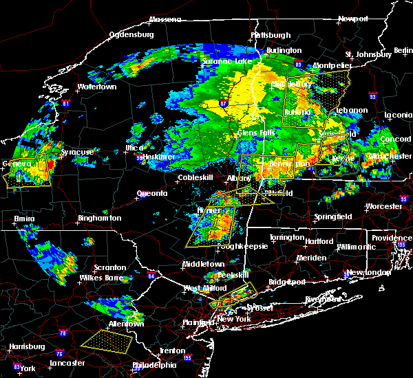 Radar Image for Severe Thunderstorms near Chatham, NY at 8/13/2016 8:36 PM EDT