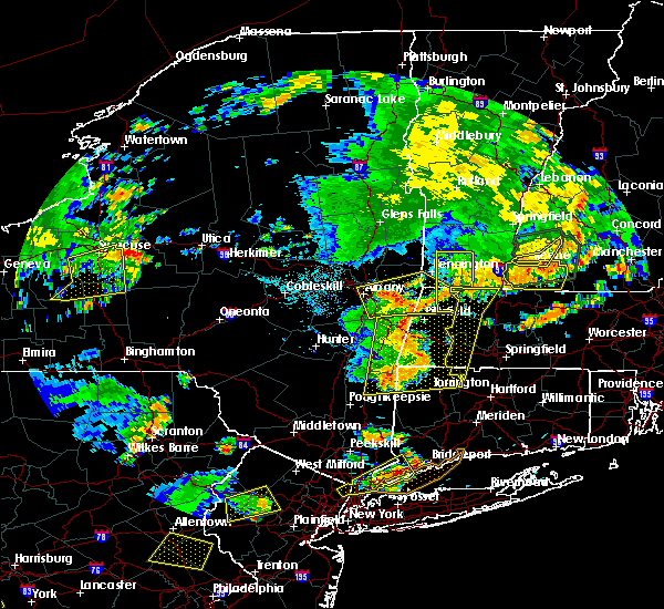 Radar Image for Severe Thunderstorms near Canaan, CT at 8/13/2016 9:03 PM EDT