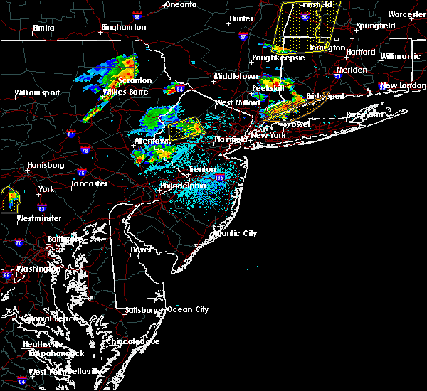 Radar Image for Severe Thunderstorms near Kenvil, NJ at 8/13/2016 9:07 PM EDT