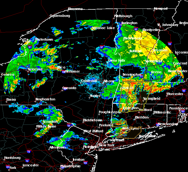 Radar Image for Severe Thunderstorms near Holyoke, MA at 8/13/2016 9:34 PM EDT